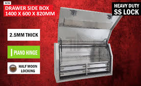 Aluminium Toolbox Side With Built In 4 Drawers Truck Ute Tool Box ... Buy Locking Paddle Latch W Black Powder Coated Finish Cabinet Lock Uws Truck Boxes Tool Storage The Home Depot Delta 21 In Alinum Mid Lid Full Size Crossover Box With Gear Cheap Chest Find Deals On Line Pilot Automotive Bed Swing Out Step Pinterest Bed Best Choice Products 49 Camper Lock Pickup Images Collection Of Low Profile Truck Box Dash Z Racing 692x1375 Silver Boxes For Trucks How To Decide Which Toolbox At Coat Rack 25 Locks Ideas On