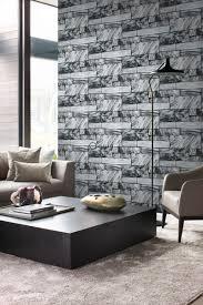 tapete marmor optik schwarz und weiß origin