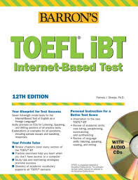 Barrons TOEFL IBT Test Of English As A Foreign Language With Audio CDs