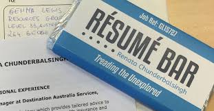 No Resume Sydney by The Chocolate Bar Resumé Is Still A Surefire Way Of Getting