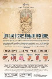 Detox And Destress 6 Week Kundalini Yoga Series