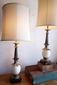 Stiffel Table Lamp Shades by Glorious Tommi Parzinger Ostrich Egg Stiffel Table Lamps Pair