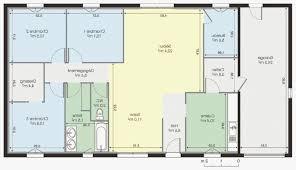 plan de maison plain pied 4 chambres dacoration plan de maison plain pied en autoconstruction 18