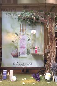 LOccitane Celebrating The Chelsea Flower Show Display By DZD London