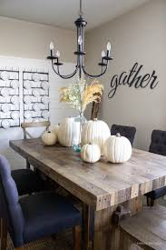 MODERN FARMHOUSE FALL DINING ROOM BY ROOMS FOR RENT