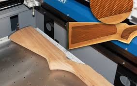 gunstock engraving and checkering with a laser engraver by epilog