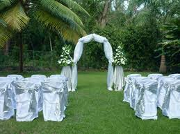 Simple Outdoor Wedding Decorations Garden Decoration Ideas