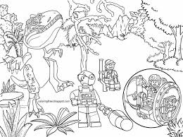 Lego Dino Coloring Pages