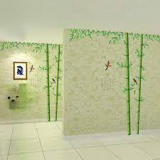 100 Bamboo Walls Amazoncom Mox WallArt Green Wall Decal Easy To Peel Easy