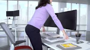 Humanscale Standing Desk Converter by Humanscale Quickstand Sit To Stand Height Adjustable Workstation