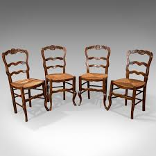 Set Of 4 Antique Dining Chairs In Dark Beech, French Country Kitchen ... Tiger Oak Fniture Antique 1900 S Tiger Oak Round Pedestal With Ding Chairs French Gothic Set 6 Wood Leather 4 Victorian Pressed Spindle Back Circa Room 1900s For Sale At Pamono Antique Ding Chairs Of Eight Chippendale Style Mahogany 10 Arts Crafts Seats C1900 Glagow Antiques Atlas Edwardian Queen Anne Revival Table 8 Early Sets 001940s Extendable With Ball Claw Feet Idenfication Guide