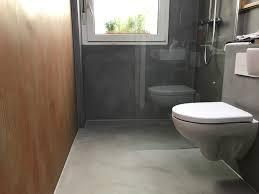 betonlook badezimmer mit eyecatcher maler trynoga aus