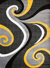 Gray Watercolor Area Rugs The Home Depot Grey And Yellow Within Rug
