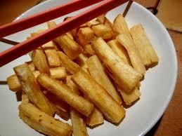 frites de manioc niger la tendresse en cuisine