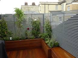 Apartments Apartment Balcony Decking Modular Multi Section Planter System Ornamental Flowers And Plants Gray