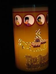 Beatles Lava Lamp Amazon by Beatles Yellow Submarine Shimmering Table Lamp Amazon Co Uk