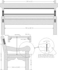 Free Park Bench Plans Wooden Bench Plans by Exotic Bench Seat Plans Balinese Style Bench Plans And Cut Out