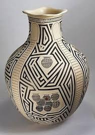 Mata Ortiz Pottery By Roberto Olivas Sgraffito Olla