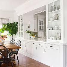 Lovely Dining Room White Cabinets And Top 25 Best Built In Hutch