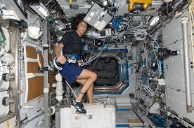 Exercises On The Cycle Ergometer With Vibration Isolation System CEVIS In Destiny Laboratory Of International Space Station