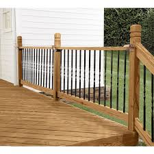 Shop Deckorators 10-Pack 26-in Black Aluminum Colonial Baluster At ... Decorating Best Way To Make Your Stairs Safety With Lowes Stair Spiral Staircase Kits Lowes 3 Staircase Ideas Design Railing Railings For Steps Wrought Shop Interior Parts At Lowescom Modern Remodel Spindles Cozy Picture Of Home And Decoration Outdoor Pvc Deck Buy Decorations Banister Indoor Kits Awesome 88 Wooden Designs