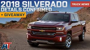 100 Chevy Special Edition Trucks 2018 Silverado Details Released S Packages