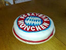 meine fc bayern münchen torte nicht perfekt aber cool
