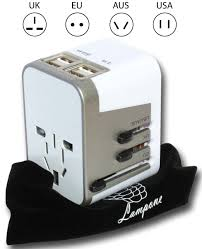 V Rocker Gaming Chair Power Adapter by 4 Usb Ports Travel Adapter Converter Universal Worldwide U2013 Lampone