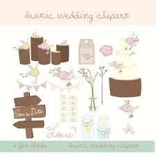 Rustic Wedding Clipart