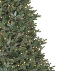 Ge Pre Lit Christmas Trees 9ft by Full Width Fraser Fir Artificial Christmas Trees Balsam Hill