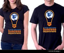 modern playful t shirt design for russ johnson by samuel design