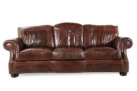 usa leather sg oak sofa mathis brothers furniture