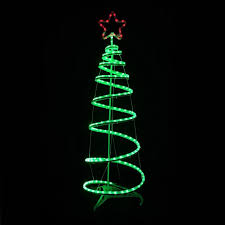 6ft Lighted Spiral Christmas Tree by Accessories Light Christmas Tree Led Light Spiral Tree