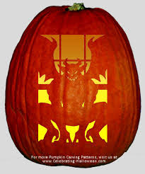 Scooby Doo Pumpkin Carving Stencils Patterns by Scary Gargoyle Pumpkin Carving Pattern Halloween Pumpkin Carving