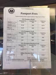 Passport Fees Yelp