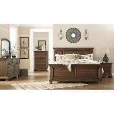 Flynnter King Bedroom Group by Signature Design by Ashley at Tri