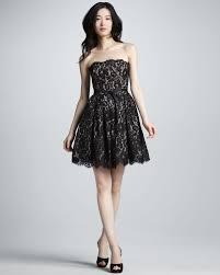 nwt robert rodriguez target neiman marcus black beige lace dress 6
