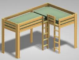 Bunk beds for the kids everybody on the top bunk