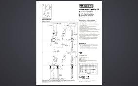 Delta Savile Faucet Problems by Delta 19939 Rb Dst Izak Venetian Bronze Single Handle Pulldown