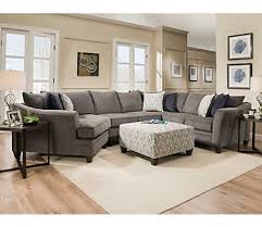 Art Van Leather Living Room Sets by Albany Pewter 3pc Sectional Sectionals Living Rooms Art Van