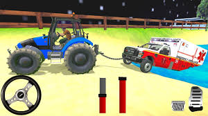 100 Truck And Tractor Pulling Games Offroad USA Driver 2018 Chained Tow Rescue Simulator Roid Gameplay
