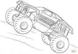 100 Monster Truck Coloring Book Cool Maximum Destr 5698 Unknown