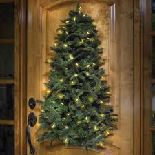 Pre Lit Entryway Christmas Trees by Pre Lit Hanging Christmas Tree The Green Head