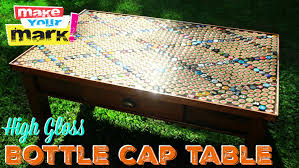 How To: High Gloss Bottle Cap Table DIY - YouTube The Best 28 Images Of How To Make A Bottle Cap Bar Top Virginia Tech Beer Cap Table Timelapse Youtube 25 Diy Bottle Lamps Decor Ideas That Will Add Uniqueness To Your Bar Stools Red Industrial Vibe Man Collects Caps For 5 Years Redo His Kitchen And Unique Ideas On Pinterest Art Homebrewing Fishing Beer W Epoxy Keezer Lid Coffee Rascalartsnyc How Bead Beautiful Tops 45 Cheap Outdoor Top Home