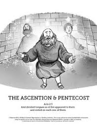 8 Images Found In The Ascension And Pentecost Kids Bible Lessons Outpouring Of Holy Spirit Is Taught This SharefaithKids Lesson On