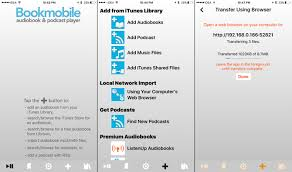 Top 3 Apps for Listening to DRM Free Audiobooks on iPhone