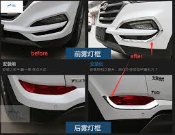 New For Hyundai Tucson 2016 2017 Front and Rear Fog Light Lamp