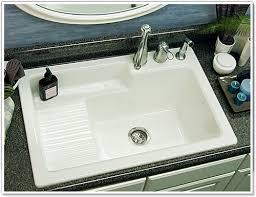 laundry room sink with drainboard corstone model 65 hamilton