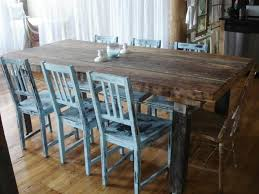 rustic kitchen table white fabric stand on rug ideas light wooden