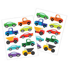 Dishwasher-Safe Kids' Cars And Trucks Stickers – Revelae Kids